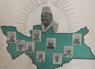 Poster of the Southern Regional Administration, Sudan